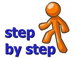 Create step by step