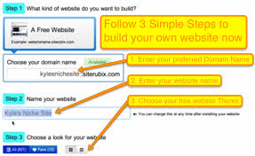 Build your website in 30secs
